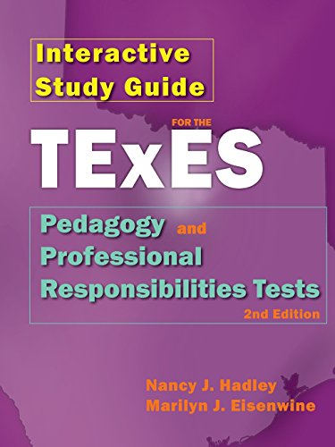 Interactive Study Guide for the Texes Pedagogy and Professional Responsibilites Test, 2nd Edition