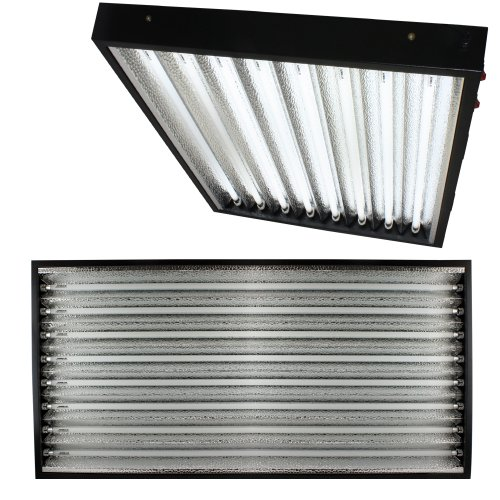 Apollo Horticulture T5 4 Feet / 8 Tube Commercial Fixture with your Choice of Bulbs