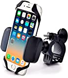 Metal Bike & Motorcycle Mount - for Any Smartphone (iPhone Xr & Xs Max, Galaxy S10, Other Cell Phones) | Unbreakable Handlebar Holder for ATV, Bicycle or Motorbike. +100 to Safeness & Comfort