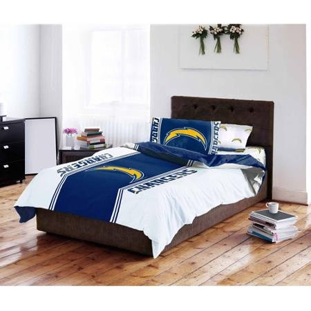 NFL San Diego Chargers Bedding Set, (Diego Bedding Set)