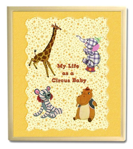 Dolce Mia Circus Animals Handmade Baby Memory Book