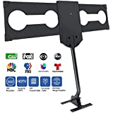 Aone 180Miles Upgraded Outdoor HDTV Antenna - Amplified TV Antenna Free Channels with RG6 Copper Digital Antenna Omni-Directional Long Range Reception for 4K/FM/VHF/UHF/1080P Free Channels 33ft