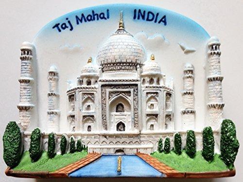 Thai MCnets Taj Mahal INDIA Resin 3D fridge Refrigerator Thai Magnet Hand Made Craft by Thai MCnets