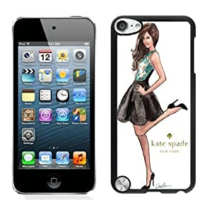 Recommend Custom Design Ipod Touch 5 Case Kate Spade New York Customized Phone Case For iPod Touch 5 Case 158 Black