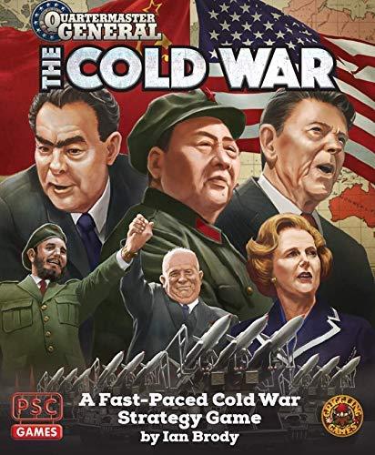 [해외]보드 게임을 흔들어 게임 쿼터 마스터 일반-냉전 SW / Board Games Griggling Games Quartermaster General - The Cold War SW