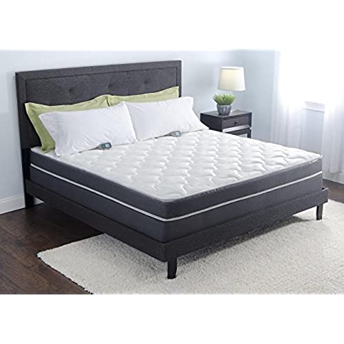 reviews with sleep electric air comfort over save store frame number of size comforter set personal bed custom full info adjustable mattress