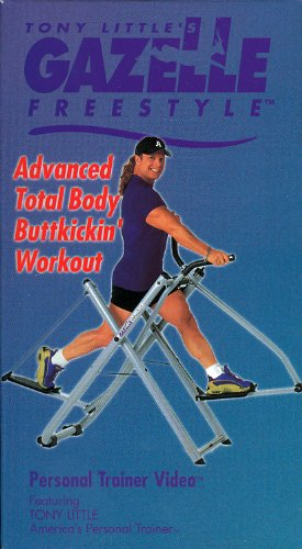 Tony Little's Gazelle Freestyle Advanced Total Body Buttkickin' Workout