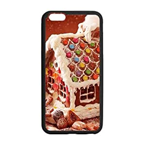 Beautiful Snow scenery Christmas house Phone Case for Iphone 6 by lolosakes