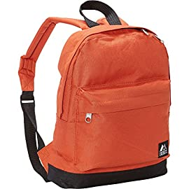 "Everest Junior Backpack 16 Dimensions 10"" x 3.5"" x 13"" (LxWxH) Durable compact size backpack for kids and youths Weighing in at 8.8 ounces (250g), this ultra lightweight backpack is one of the easiest things to wear and carry"