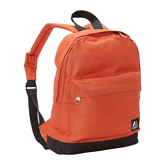 """Everest Junior Backpack, Multi Dot, One Size 1 <p>Available in a range of eye-catching colors and prints, this backpack is perfect for stylish young kids on the go. The Everest Junior Kids Backpack is made from polyester fabric and features a colorful allover print with a zip top main compartment and a zip front compartment to hold smaller items. Perfect for kids heading off to preschool or day care, this slim backpack offers a distinctive, eye-catching design that can be used to carry school supplies, art supplies, or lunch. Adjustable backpack straps and a looped top haul handle make it easy and comfortable for little ones to carry. Dimensions 10"""" x 3.5"""" x 13"""" (LxWxH) Durable compact size backpack for kids and youths Weighing in at 8.8 ounces (250g), this ultra lightweight backpack is one of the easiest things to wear and carry Easy access front pocket with hidden zipper closure Available in fun prints for the ultimate personal expression Imported</p>"""