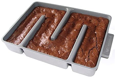 Bakers edge brownie pan