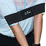 New Golf Equipment Accessories Golf Arm Posture Motion Correction Belt Black Golf Training Aids 38 * 7cm