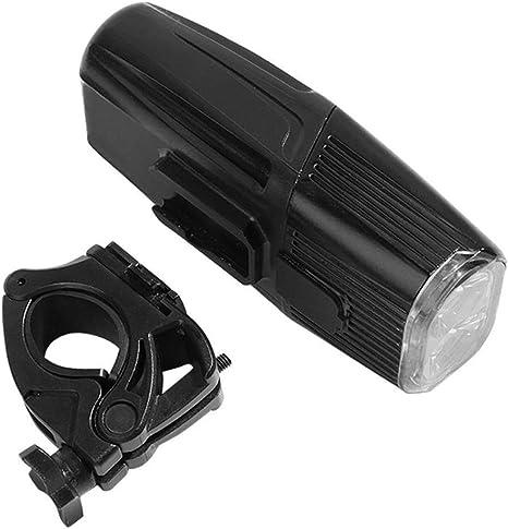 Dixinla Luz de Bicicleta USB Carga Fulgor Noche Bicicleta montaña ...