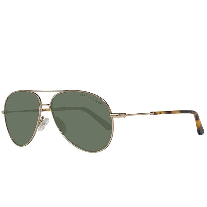 Gant Sonnenbrille Ga7097 32R 56 Gafas de Sol, Dorado (Gold) 56.0 para Hombre