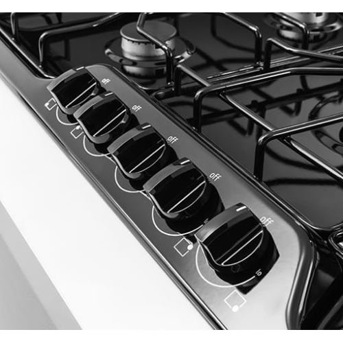 Frigidaire ffgc3610q 36 inch wide built in gas cooktop for Built in microwave 24 inches wide