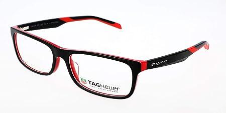Tag Heuer Brillengestelle TH-0551 Monturas de gafas, Multicolor (Mehrfarbig), 57.0 Unisex Adulto