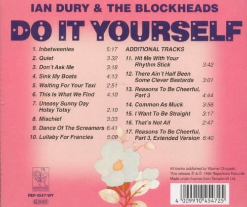 Ian dury do it yourself amazon music solutioingenieria Choice Image