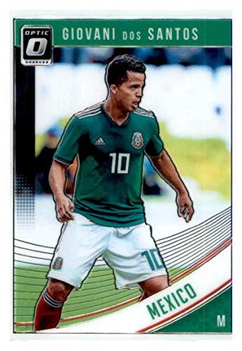 2018-19 Donruss Optic #152 Giovani Dos Santos Mexico Soccer Card