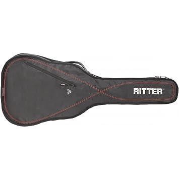 Ritter RGP2-E ELEC - Funda/estuche para guitarra electrica-bajo, logo