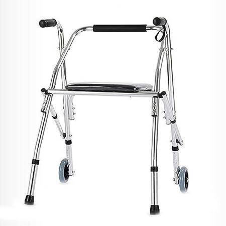 LYXPUZI andador de ancianos - Polea con asiento plegable ...