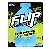 Grab a plastic bottle (bottle not included. Additional purchase required) and start flipping with the Flip Challenge game! The game rules are simple – ace the Flip Challenges to earn points. First player to 10 points wins! Kids can practice the 34-in...