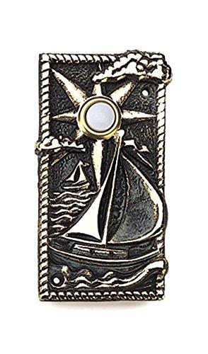 Whitehall Prod Ltd Verdi Brass Boat Doorbell 20099 (Whitehall Door Doorbell)
