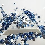 DS-157316 Light Sapphire Glue On Flatback Nail Art