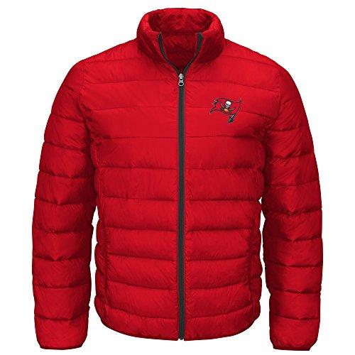 Bay Jacket Tampa Buccaneers (G-III Sports NFL Tampa Bay Buccaneers Men's Skybox Full Zip Packable Jacket, Red, Medium)