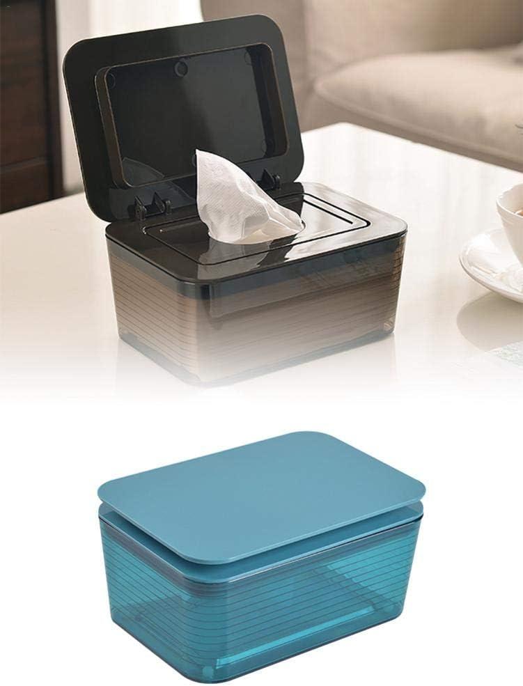 Morningtime Feuchtt/ücherbox Baby Taschentuchbox Kunststoff mit Siegeldeckel Taschent/ücher Papierbox Aufbewahrungsbox Desktop Home Tissue Container