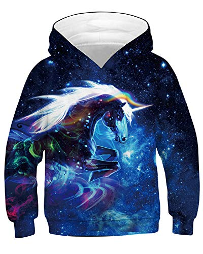 Hoodie Amoma Space Fille Amoma Space Amoma Hoodie Fille Unicorn Hoodie Unicorn xwnpHgZqw
