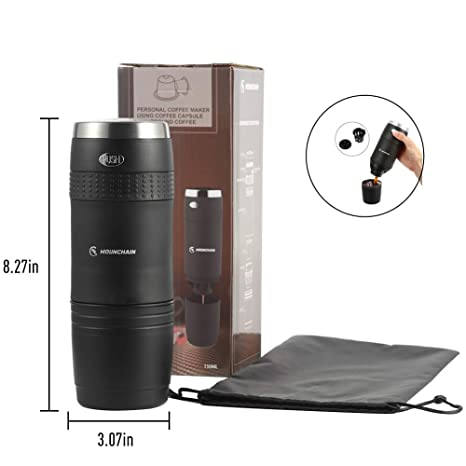 Amazoncom Portable Travel Coffee Maker Single Cup Mini Electric