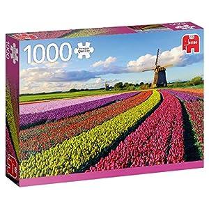 Premium Collection 18833 Campo Di Tulipani Puzzle Da 1000 Pezzi