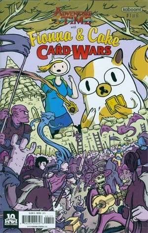 Adventure Time Fionna And Cake Card Wars  1