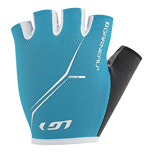 Louis Garneau Women's Blast Gloves Atomic Blue (Garneau Womens Glove)