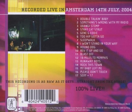 Live From Europe: Amsterdam July 14 2004
