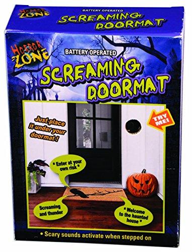 FORUM NOVELTIES SCREAMING DOOR MAT]()