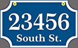 Two Sided Address Sign - Custom Hanging Address Plaque - For Home or Business - Comfort House # CSHR1610