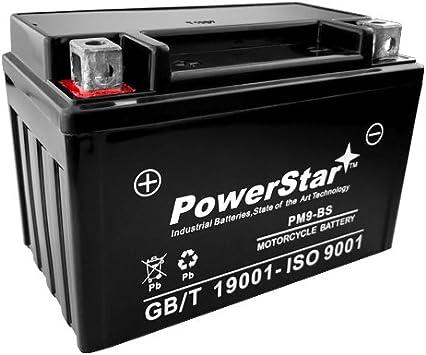 Amazon.com: YTX9-BS Sealed Battery Kawasaki ZZR600 05-08 98 ...