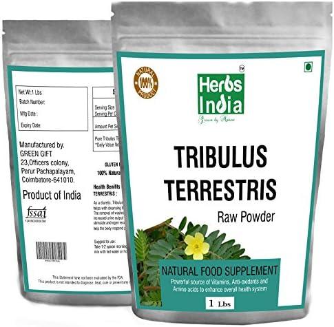 Tribulus Terrestris Powder Fillers Natural product image
