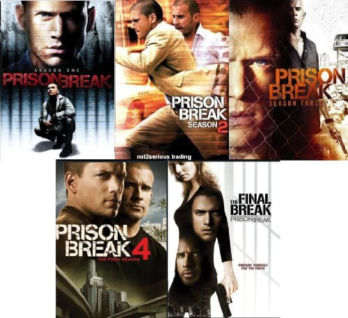 Prison Break: Seasons 1-4 + Prison Break: The Final Break Complete Series