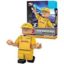 IndyCar Andretti Autosport OYO Ryan Hunter-Reay Racing Minifigure, Black, Small