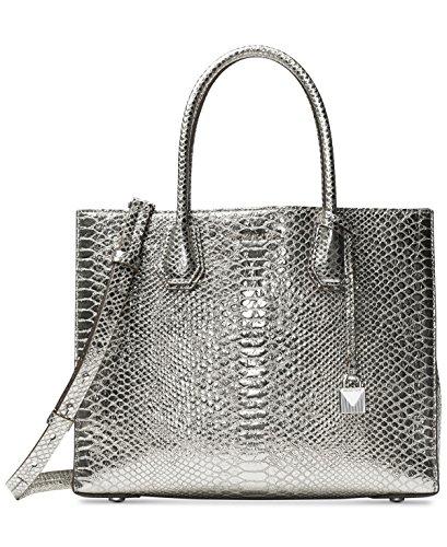 Michael Kors Silver Handbag - 3