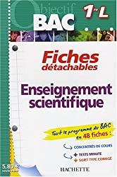Enseignement scientifique 1e L