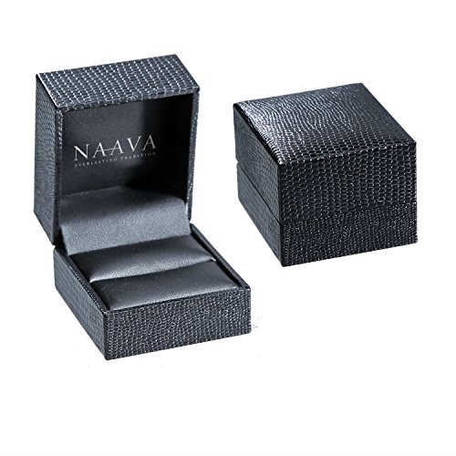 Naava - Bague - Or blanc - Saphir