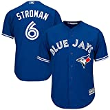 Marcus Stroman Toronto Blue Jays Blue Youth Cool Base Alternate Replica Jersey