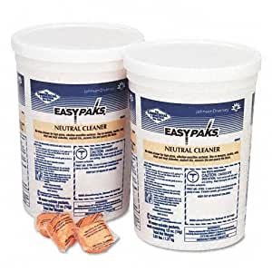 Easy-Paks Neutral Floor Cleaner Packets, 90/Tub, 2 Tubs/Carton JOD90653