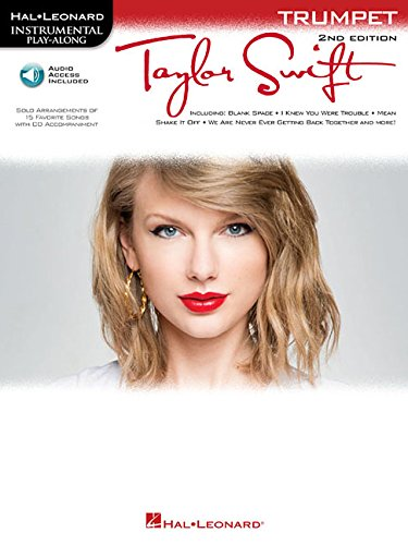 Taylor Swift: Trumpet Play-Along Book with Online Audio (Hal Leonard Instrumental - Nerd Taylor Swift