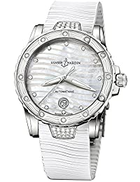 New Ulysse Nardin Lady Marine Diver White Diamond Automatic Watch