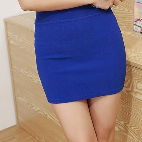 QBXDQ Falda Corta Micro Minifaldas Faldas De Verano para Niñas ...