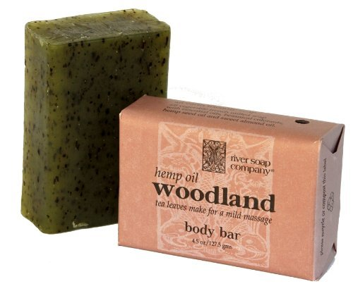 River Soap, Soap Woodland Hemp Oil, 4.5 Ounce